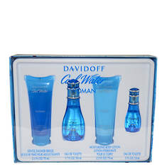 Cool Water by Davidoff 4-Piece Set (Women's)