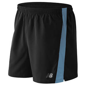 New Balance Mens Accelerate 5 inch Short