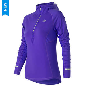 New Balance Womens Heat Half Zip