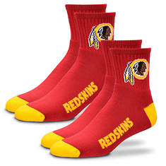 2-Pack Men's Or Women's NFL Socks