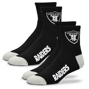 2-Pack Men's Or Women's NFL Socks