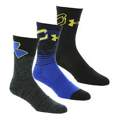 Under Armour Phenom Curry Crew Socks (Men's)