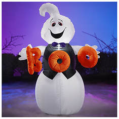 4' Inflatable Boo Ghost