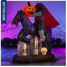 6.5' Inflatable Headless Horseman