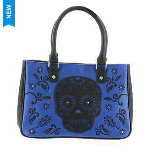 Loungefly Skull Laser Cut Tote Bag