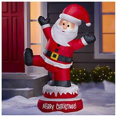 5' Inflatable Dancing Santa