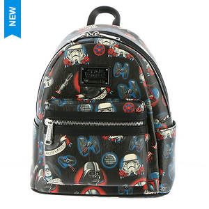 Loungefly Star Wars Tattoo Flash Mini Backpack