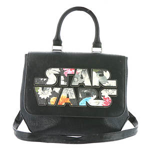 Loungefly Star Wars Floral Applique Crossbody Bag