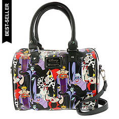 Loungefly Disney Villain-Print Duffel Bag