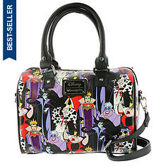 Loungefly Disney Villain-Print Duffel Bag