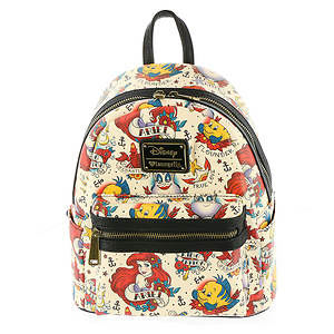 Loungefly Ariel Tattoo Mini Backpack