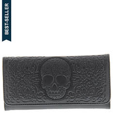 Loungefly Lattice Skull Wallet