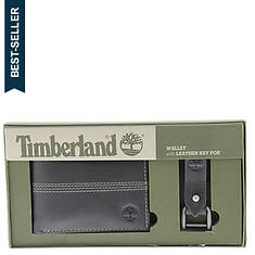 Timberland Wallet Gift Set with Key Chain (Men's)