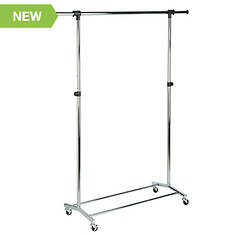 Chrome Garment Rack
