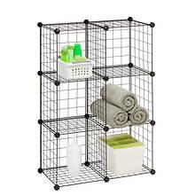 6-Pack Modular Mesh Storage Cube