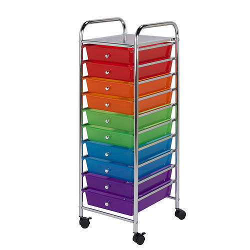 10 Drawer Storage Cart