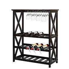 Casual Home Montego X-Style Wine Rack