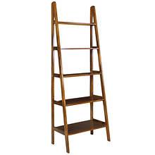 Casual Home 5-Shelf Ladder Bookcase