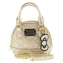 Loungefly Hello Kitty Gold Glitter Micro Dome Bag