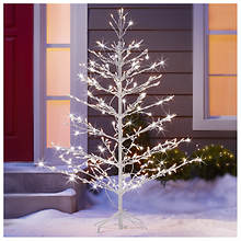 5' Pre-Lit Stick Tree