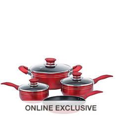 Brentwood 7-Piece Aluminum Cookware Set