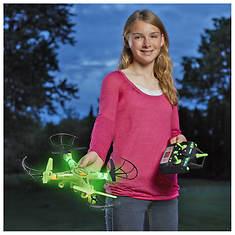 Striker Glow-In-The-Dark Quadcopter Drone