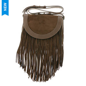 Frye Ray Fringe Saddle Bag