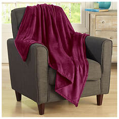 Oversized Velvet Throw