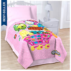 Shopkins Twin Blanket