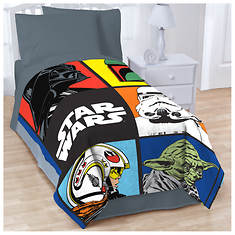Classic Star Wars Twin Blanket