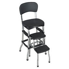 Cosco® Retro Black Step Stool