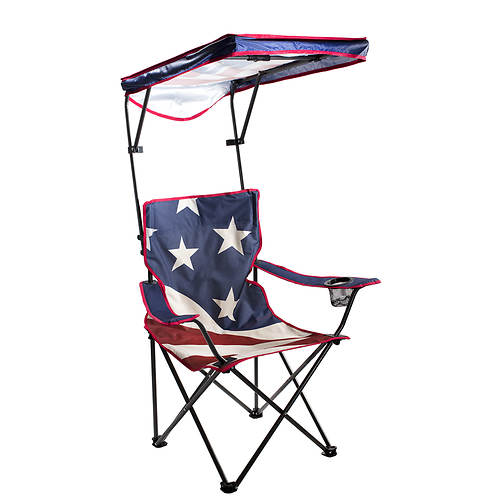 Quik Shade Adjustable Folding Camp Chair