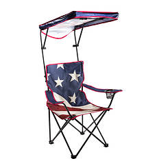 Quik Shade Adjustable Folding Camp Chair
