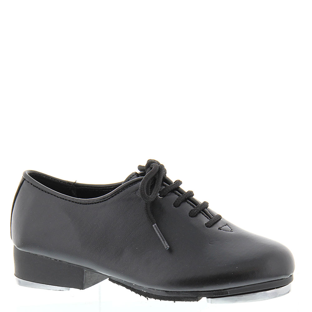 Swing Dance Shoes- Vintage, Lindy Hop, Tap, Ballroom Dance Class Pro Jazz Tap Oxford Girls Toddler-Youth Black Oxford 13.5 Toddler M $36.95 AT vintagedancer.com