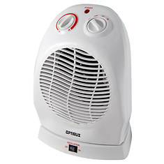 Optimus Portable Oscillating Fan Heater