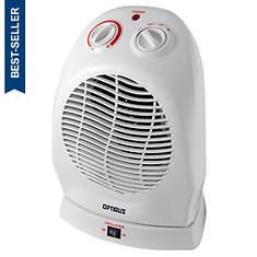 Optimus Portable Oscillating Fan Heater