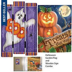 Halloween Flag & Sign Bundle