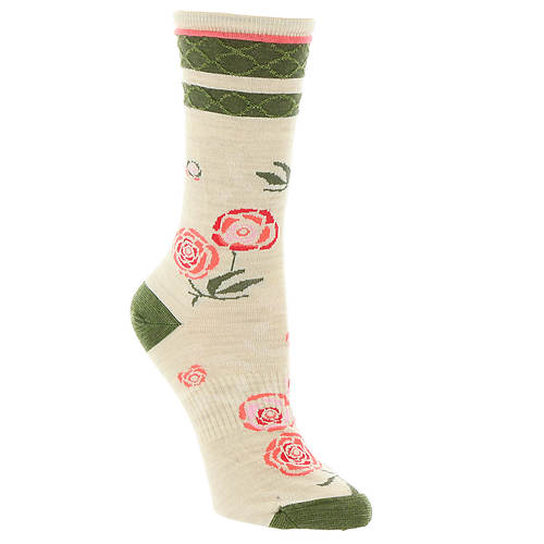 Smartwool Rosey Posey Crew Socks (Women's)