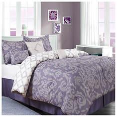 Alessa 7-Piece Bed-in-a-Bag Set