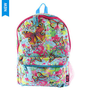 ICU Girls' Butterfly Splatter Backpack