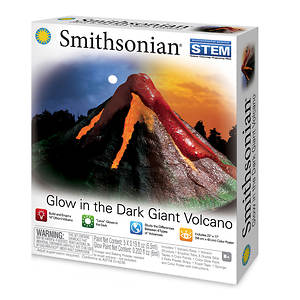 Smithsonian Giant Glow-In-The-Dark Volcano