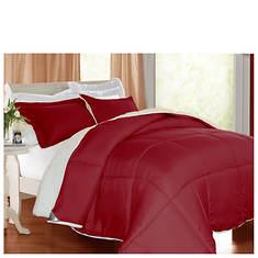 Kathy Ireland Reversible Sherpa Blanket Set