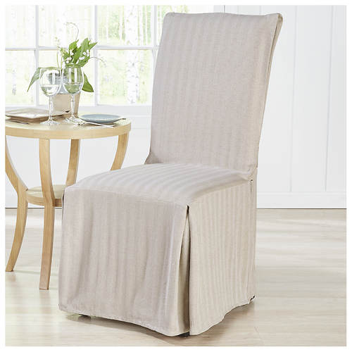 Herringbone Dining Room Chair Cover