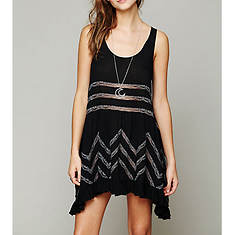 Free People Women's Viscose Voile Trapeze Slip Dress