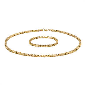 Byzantine Chain & Bracelet Set