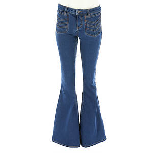 Free People Women's Stella High Rise Flare Jean