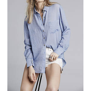 Free People Women's That's a Wrap Shirt
