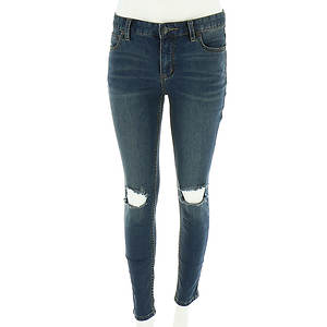 Free People Women's Skinny Destroyed Jean
