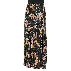 Free People Women's Lisa Crepe Smooth Sailing Maxi Skirt