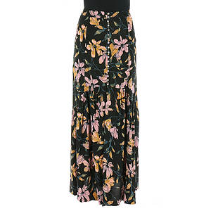 Free People Women's Lisa Crepe Smooth Sailing Maxi Skirt